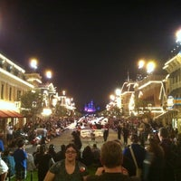 Photo taken at Main Street, U.S.A. by Tim A. on 11/2/2011