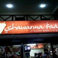 Photo taken at Shawarma Fadi by Luis D. on 11/1/2011