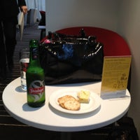 Photo taken at Qantas Club Lounge by Jase on 8/19/2012