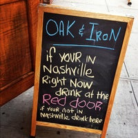 Photo taken at Oak & Iron by Graham L. on 7/8/2012