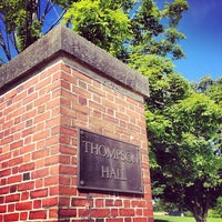 Photo taken at Thompson Hall by Jason B. on 7/13/2012