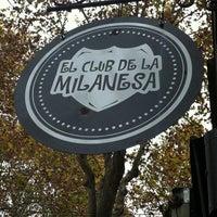 Photo taken at El Club de la Milanesa by Carmela P. on 5/26/2012