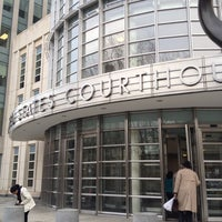 Photo taken at Theodore Roosevelt Federal Courthouse (U.S. District Court) by Jennie C. on 3/26/2012
