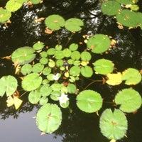 Photo taken at Central Park - Conservatory Garden by Foladé on 8/2/2012