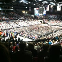 Photo taken at Convocation Center by Catherine K. on 5/12/2012
