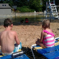 Photo taken at Harold Hall Quarry Beach by Aaron L. on 7/1/2012