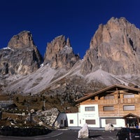 Photo taken at Rifugio Passo Sella by Claudia B. on 10/31/2015