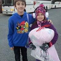Photo taken at David Cox Road Elementary by Sherri M. on 10/24/2013