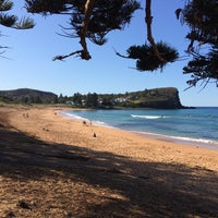 Photo taken at Avalon Beach by Charles H. on 7/25/2015