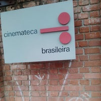 Photo taken at Cinemateca Brasileira by Marcelinho O. on 7/17/2013