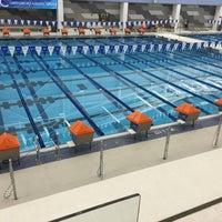 Photo taken at Greensboro Aquatic Center by Chris B. on 9/12/2015