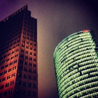 Photo taken at Potsdamer Platz by Stefan on 12/22/2012