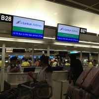 Photo taken at Departure Hall - NRT Terminal 2 by Kaoru on 7/27/2013