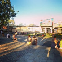 Photo taken at Northbridge Piazza by Anderson L. on 2/3/2013