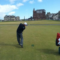 Photo taken at The Old Course St Andrews by Ryan E. on 3/29/2013