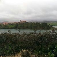 Photo taken at San Vicente de la Barquera by Jose A. M. on 3/26/2016