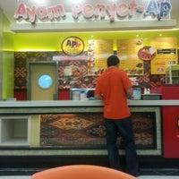 Photo taken at Ayam Penyet AP by Yanie A. on 9/19/2012
