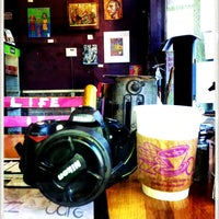 Photo taken at Buzz Cafe by Ania on 1/22/2013