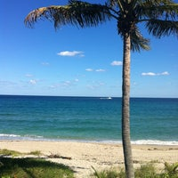 Photo taken at Highland Beach by Charles S. on 10/21/2012