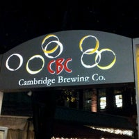 Photo taken at Cambridge Brewing Company by Michael S. on 11/9/2012