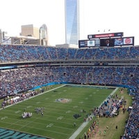 Photo taken at Bank of America Stadium by Laurie B. on 12/23/2012