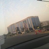 Photo taken at Al Jazira Bank . Head Office   بنك الجزيرة by Sultanito S. on 3/9/2013