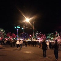Photo taken at Glendale Glitter And Glow Block Party by N L. on 1/13/2013