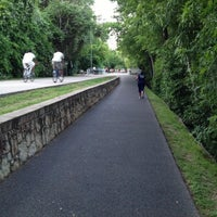 Photo taken at Katy Trail by Krystal S. on 5/1/2013