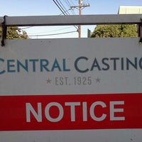 "Photo taken at Central Casting by Matthew ""M@tch"" R. on 2/21/2013"