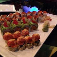 Photo taken at K Asian Bistro Sushi Bar by Nicole P. on 11/9/2013