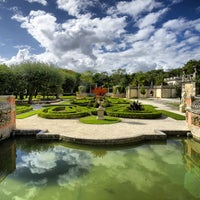 Photo taken at Vizcaya Museum and Gardens by Luis G. on 4/9/2013