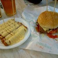 Photo taken at Burger Bakar Abang Burn by Ayul A. on 12/31/2012