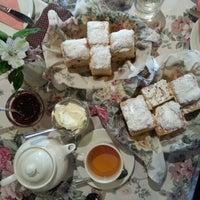 Photo taken at Miss Marple's Tea Room by Vivian O. on 10/1/2012