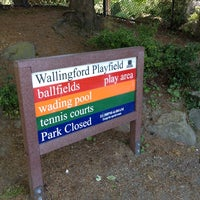 Photo taken at Wallingford Playfield by Phil G. on 6/10/2013