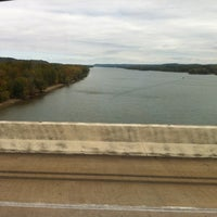 Photo taken at Tennessee River Bridge by Lori on 10/10/2012