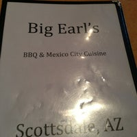 Photo taken at Big Earl's BBQ by Mary P. on 2/22/2013