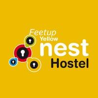 Photo taken at Feetup Yellow Nest Hostel Barcelona by Feetup Hostels Spain on 7/8/2014