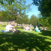 Photo taken at West Princes Street Gardens by Alexander M. on 6/8/2013
