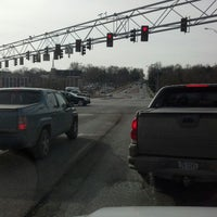 Photo taken at 90th & W Dodge Rd by Jörg H. on 2/14/2013