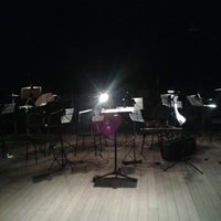 Photo taken at Teatro Funarte Plínio Marcos by Yrinna B. on 9/28/2012