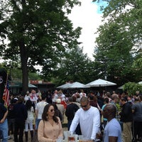 Photo taken at Bohemian Hall & Beer Garden by Rich G. on 5/26/2013