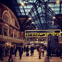 Photo taken at London Liverpool Street Railway Station (LST) by Su B. on 11/30/2012