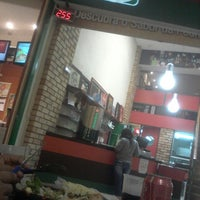 Photo taken at Pizza na Pedra by ALERRANDRO A. on 7/9/2014