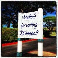 Photo taken at Kā'anapali Beach by Greg W. on 9/19/2012