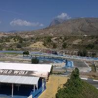 Photo taken at Karting by Thibaud C. on 5/21/2014