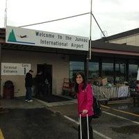 Photo taken at Juneau International Airport (JNU) by Luis S. on 8/21/2013