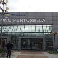 Photo taken at Stazione Caronno Pertusella by Stefano C. on 10/18/2012