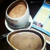 Photo taken at Max Brenner Chocolate Bar by IcePenquin on 12/15/2012