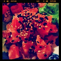 Photo taken at Kazan Sushi by paolettayeah on 3/10/2013