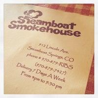 Photo taken at Steamboat Smokehouse by Sherri M. on 2/15/2015